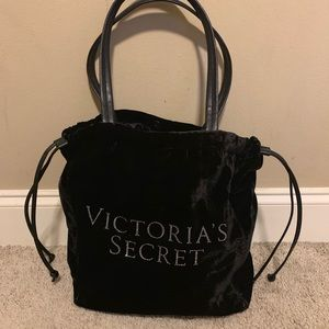 VICTORIAS SECRET VELVET TOTE/ PURSE